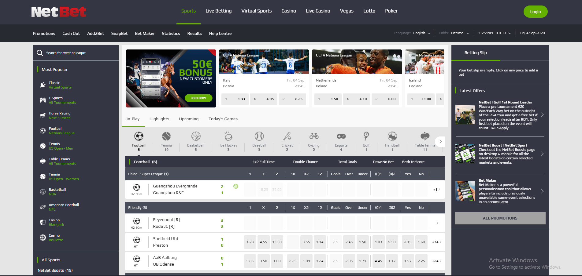 Nigerian Review of NetBet May 2021