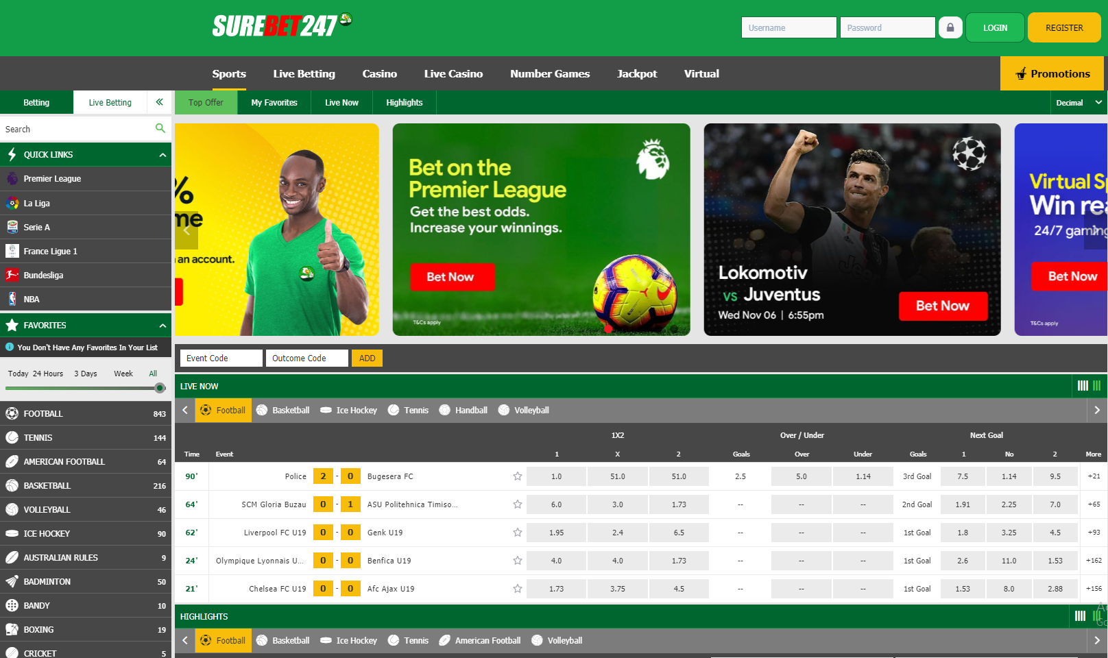 Surebet247 Review March 2021 For Punters in Nigeria
