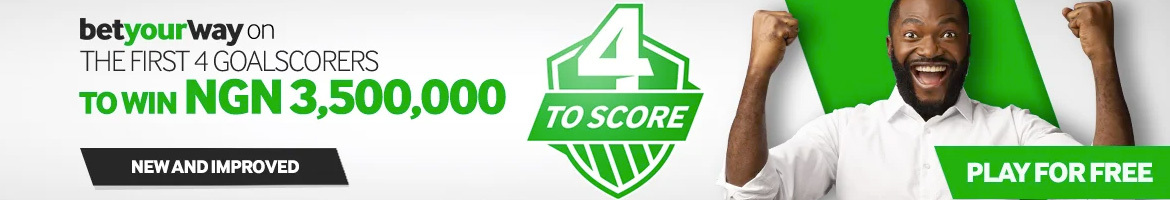 4 to score jackpot promotion at betway