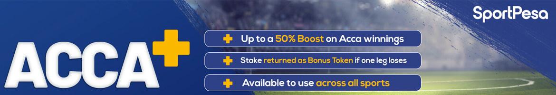 acca boost bonus at sportpesa